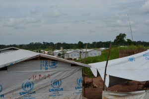 UNHCR camp near Libenge.